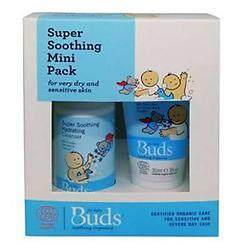 Buds: Soothing Organics Eczema Rescue Kit MINI Set