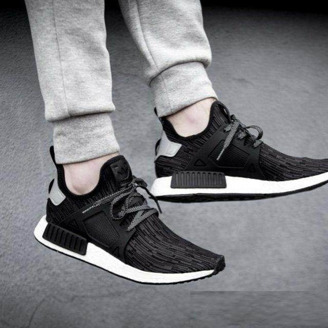 ยี่ห้อไหนดี  อุทัยธานี Aonetop_Ready_Stock_Original_Adidas_NMD_XR1_Primeknit_Oreo_Men/Women_Runing_Shoes_S77195
