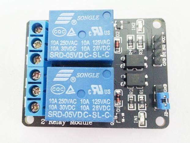 Arduino Opto isolator 2 Channel Way 5V Relay Module