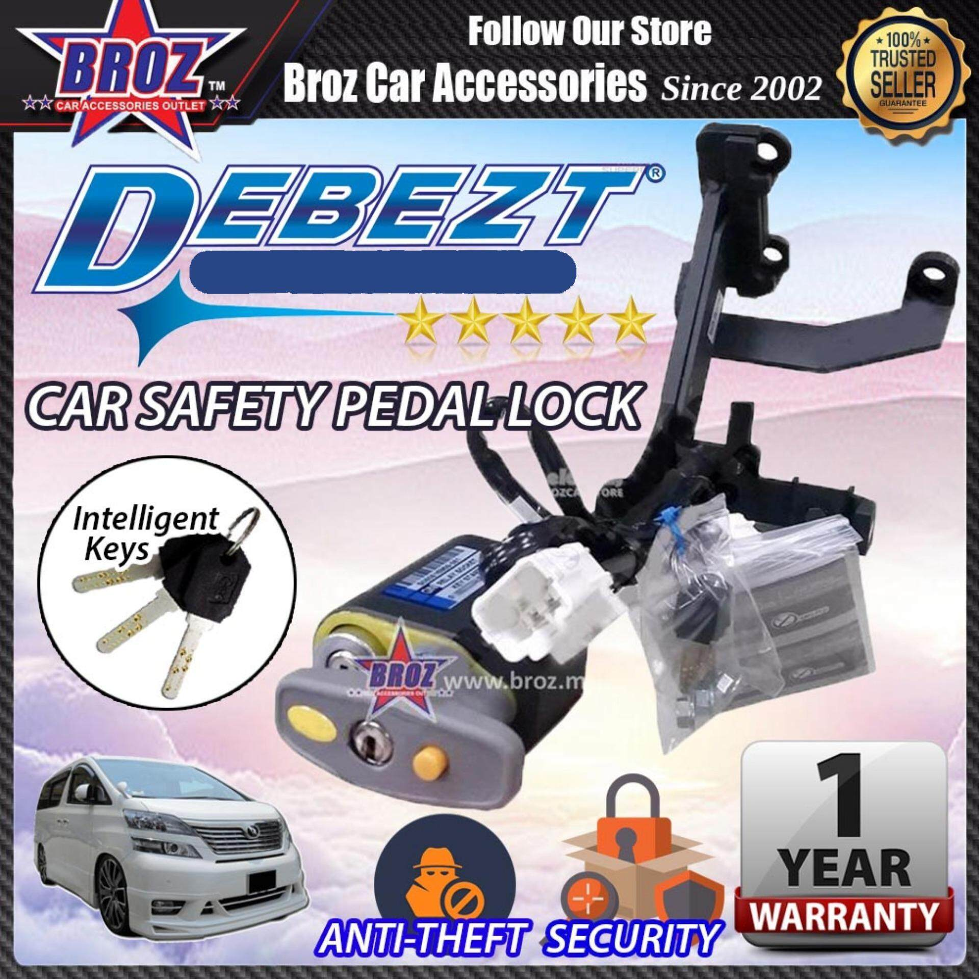 Vellfire 2008-2014 Debezt Auto Push Start Anti Theft Double Pedal Lock