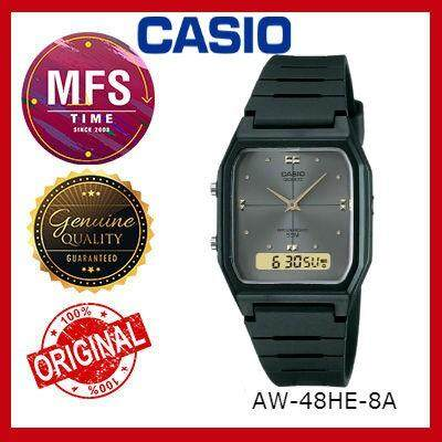 (2 YEARS WARRANTY) CASIO ORIGINAL AW-48HE YOUTH SERIES UNISEX WATCH