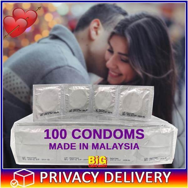 Bulk Condoms Fragrance Free 100pc Discreet Look [High Quality]