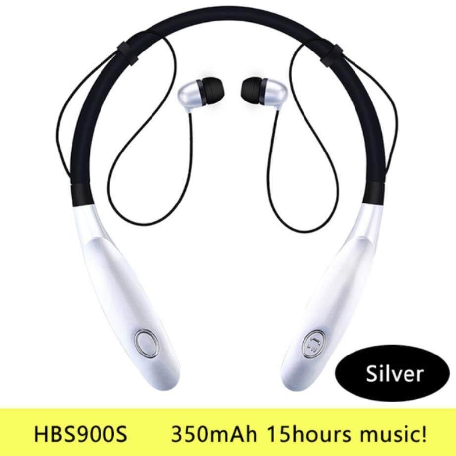 หูฟังบลูทูธหูฟังไร้สายวิ่งกีฬาเสียงเบสไร้สายหูโทรศัพท์. ไมโครโฟนสำหรับ iPhone Xiaomi สเตอริโอ