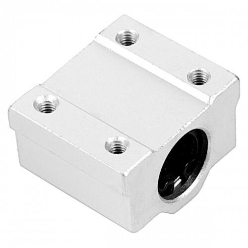 SCS8UU 8mm Linear motion ball slide units bearing block Al Rail guide shaft CNC 3D Printer
