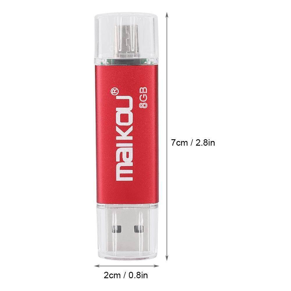 Storage & Hard Drives - OTG Speed Stick Flash Drive U Memory 2 Portable Disk Dual-use USB 0 High Red - [8G / 16G / 32G / 64G / 128G]