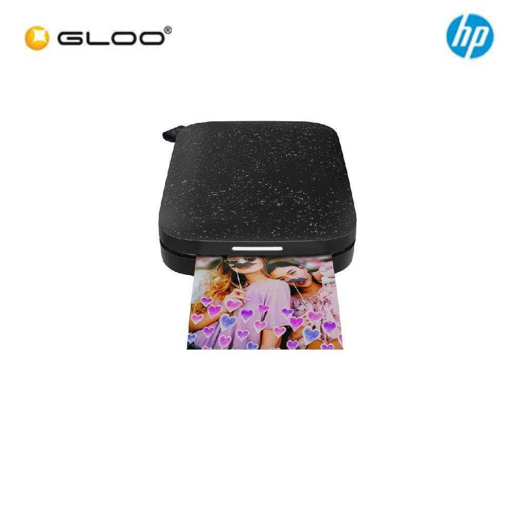 NEW HP Sprocket 200 Printer (1AS86A) - Black Noir
