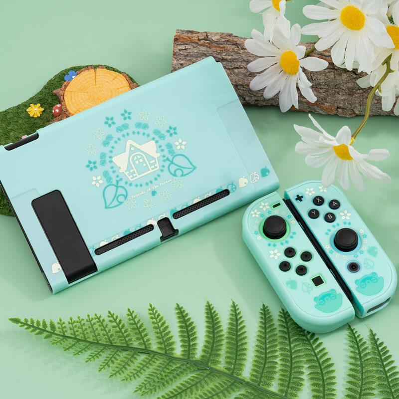 Hình ảnh Leaf House Switch Vỏ bảo vệ chống rơi vỏ cứng back Grip Shell NS hộp điều khiển trò chơi vỏ cho phụ kiện Nintendo Switch