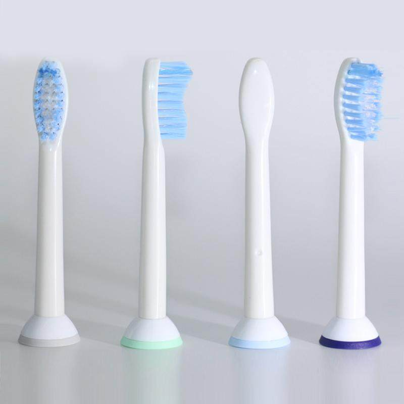 แปรงสีฟันไฟฟ้า รอยยิ้มขาวสดใสใน 1 สัปดาห์ ลำพูน 4 pcs Tooth Brush Heads for HX6054 HX6053 Philips Sonicare Diamond Replacement