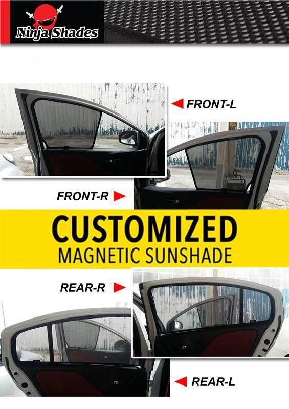 Nissan Sylphy G11(2005-2013) Magnetic Ninja Sun Shade Sunshade (5pcs)