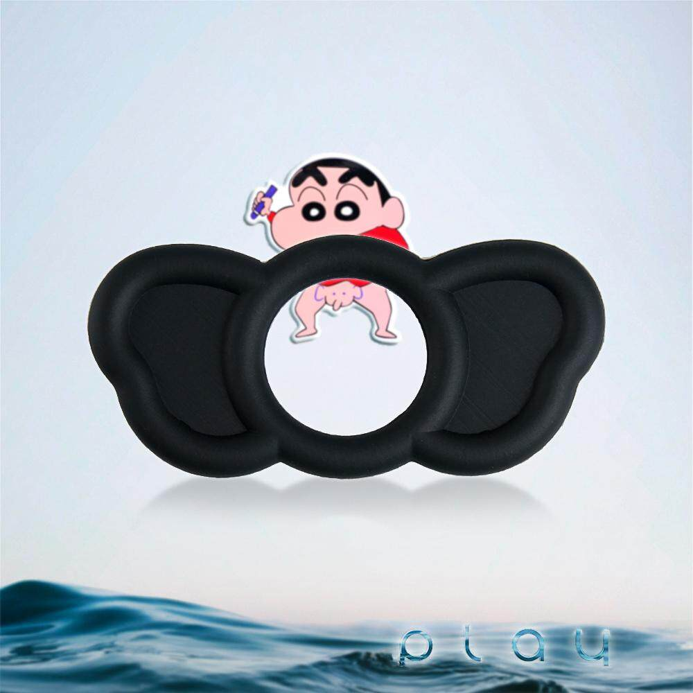 (KL Ready Stock) Men 3x Elephant Silicone Penis Delay Ring Cockring