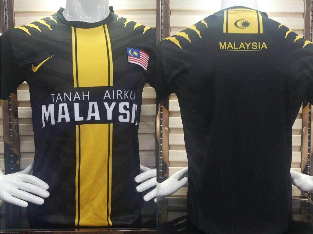 TEAM MALAYSIA ORIGINAL FIT SPORTS CASUAL COOL APPAREL T-SHIRT JERSEY 2020