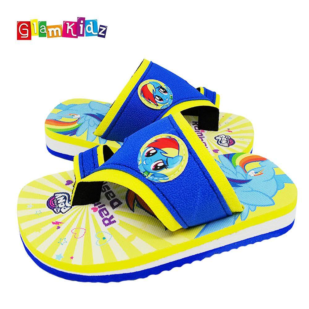 07d83311773 GlamKidz My Little Pony Girls Slippers (Blue)  2602