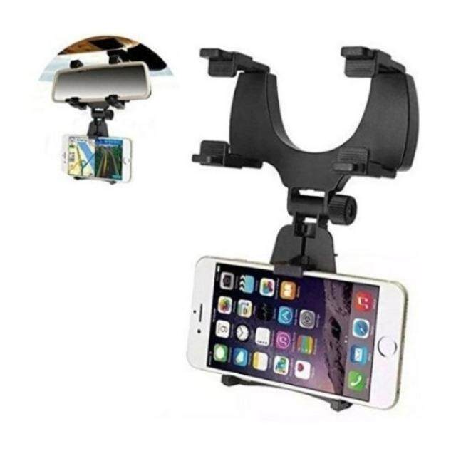 iMount JHD-97 Universal Car Rear View Mirror Mount Phone Holder for 5 inch