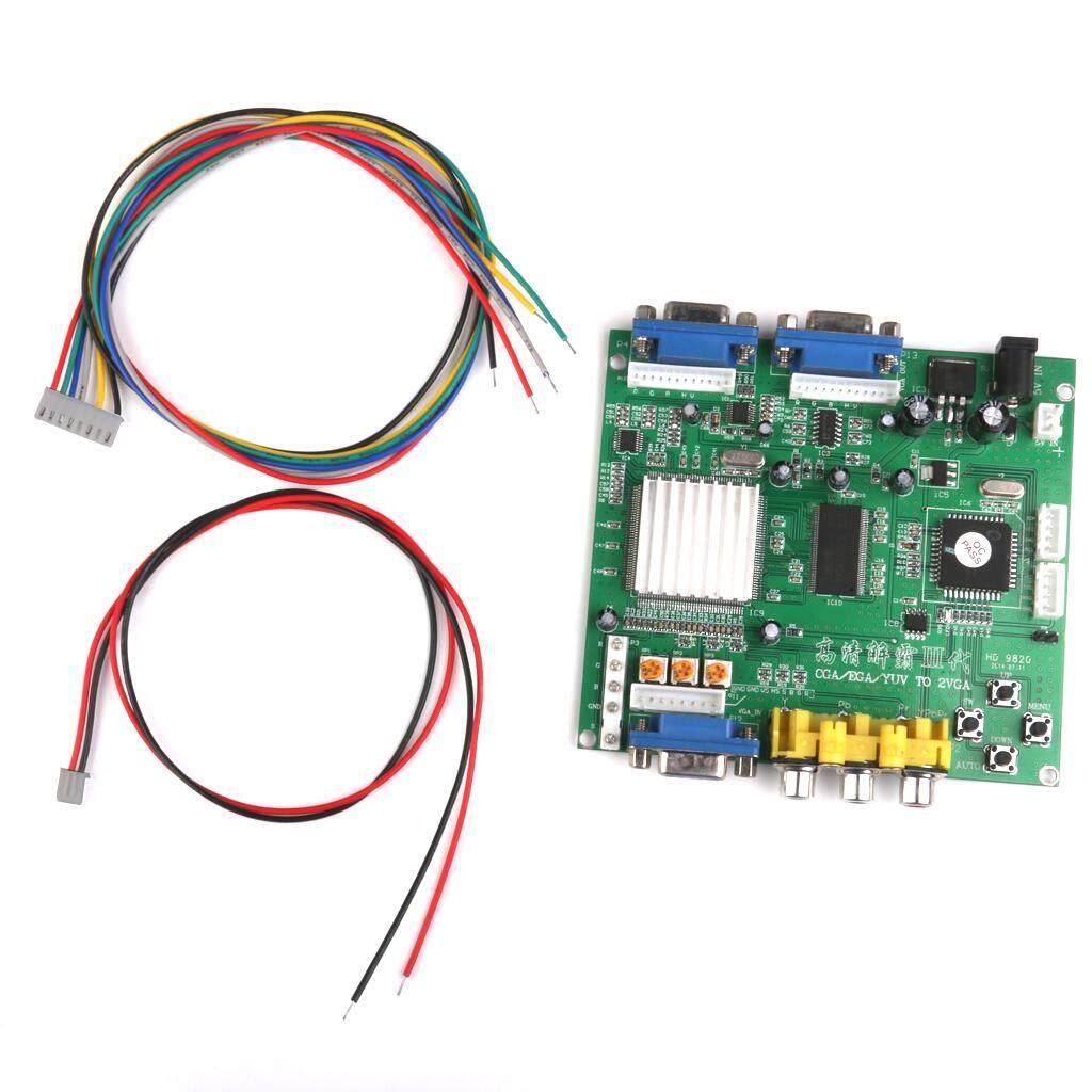 Gazechimp GBS-8220 CGA to VGA Dual Output Arcade Game HD Video Converter Board