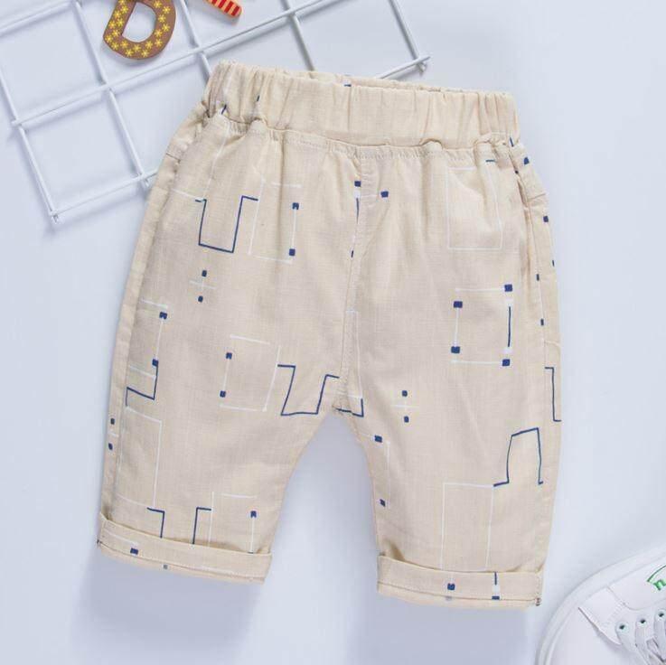 Kids Boy Bamboo Cotton Cropped Pant