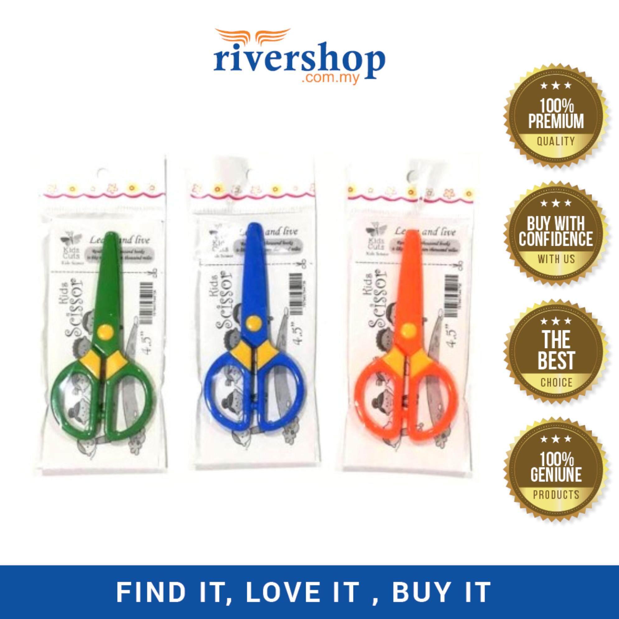 "4.5"" Plastic Kids Scissors"