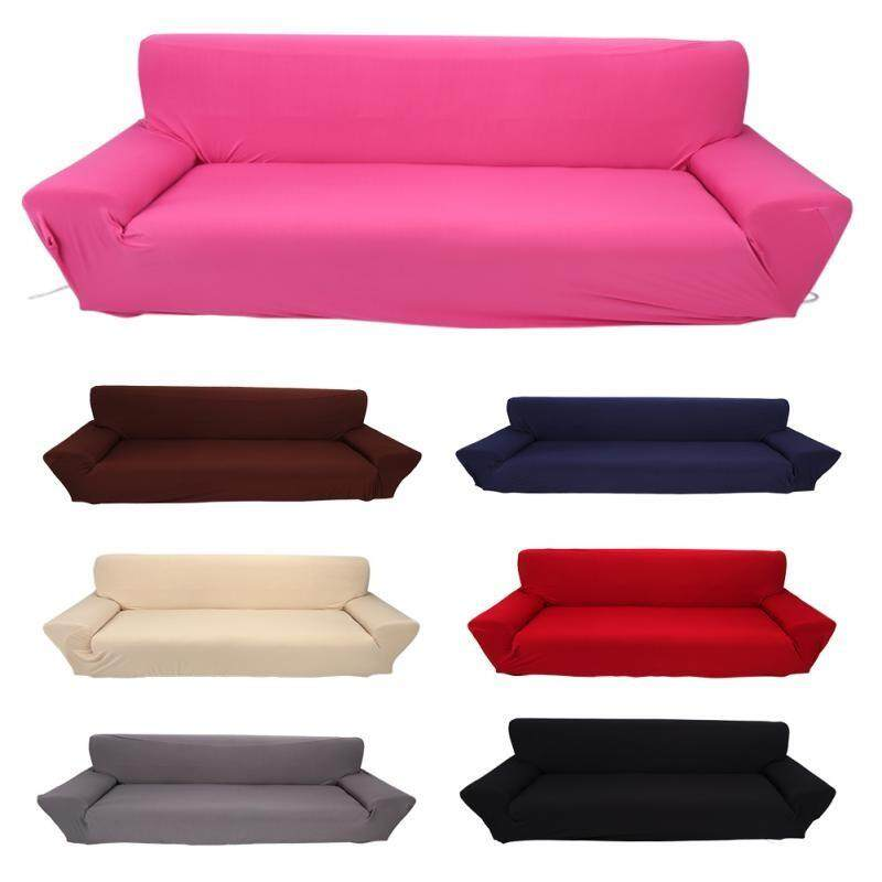 Cushions & Covers - 4 Seater Full Stretch Elastic Sofa Cover Couch  Protective Slipcover Hot Sale - [RED / BLACK / BEIGE / BURGUNDY / BROWN /  BLUE / ...