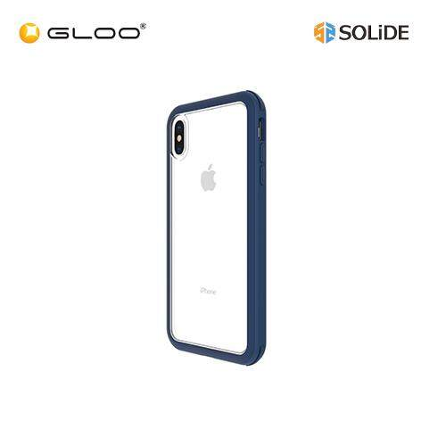 Solide iPhone XS Max Venus Phone Case AXBU3M (Mustard/MistyBlue/Orchid/Pine/Red/Navy/Black)