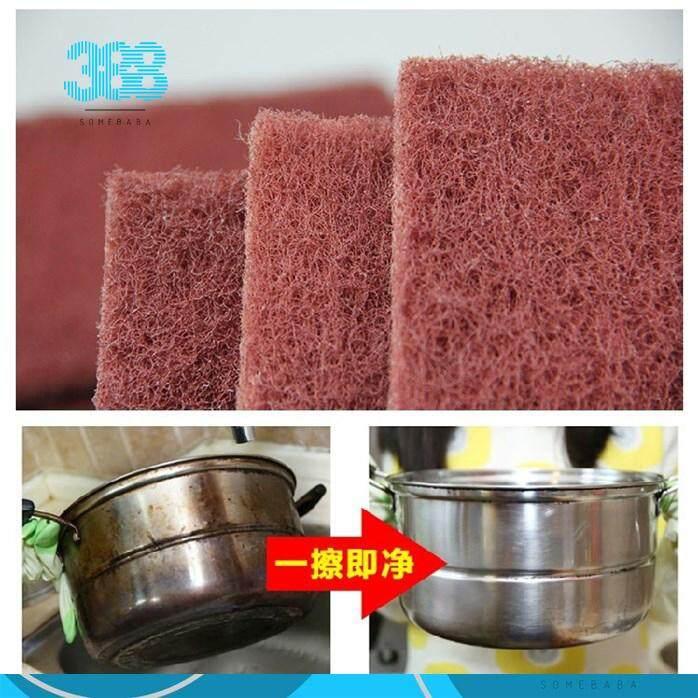 【READY STOCK】 Magic Sponge Brush Kitchen Washing Cleaning Kitchen Cleaner Tool