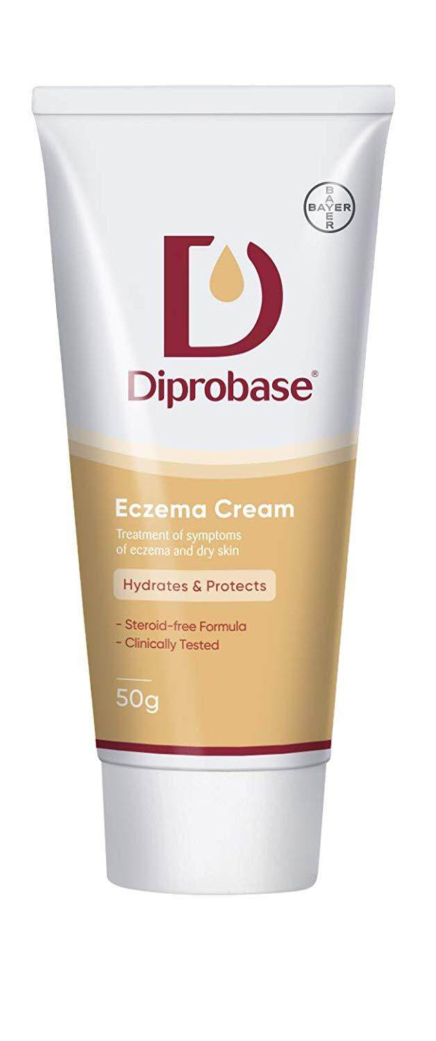 Diprobase Eczema Cream 50g for treatment of eczema symptoms and dry skin