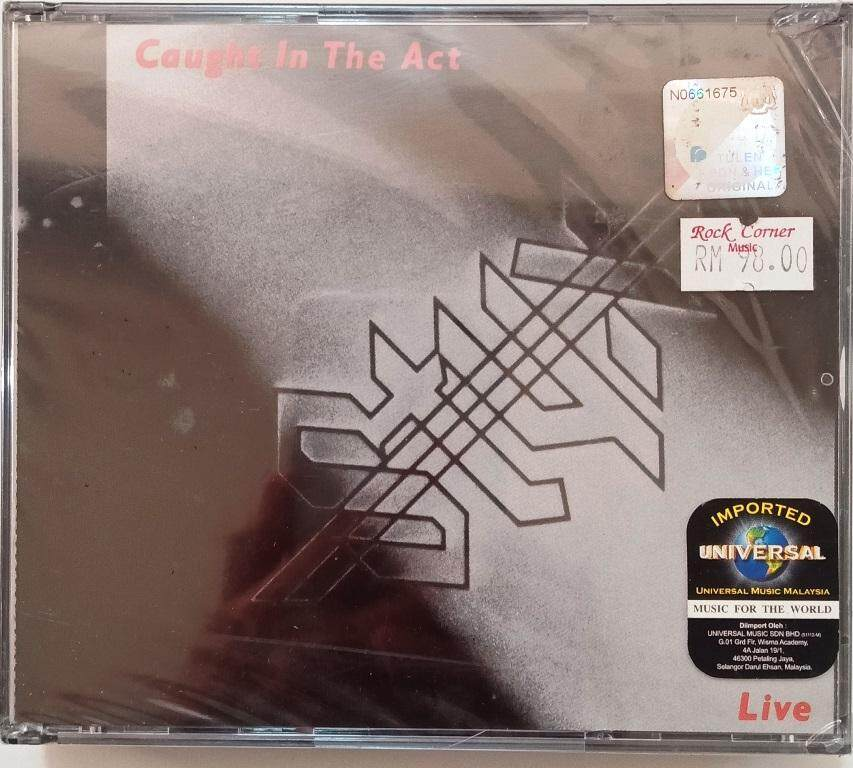 STYX Caught In The Act CD OFFER