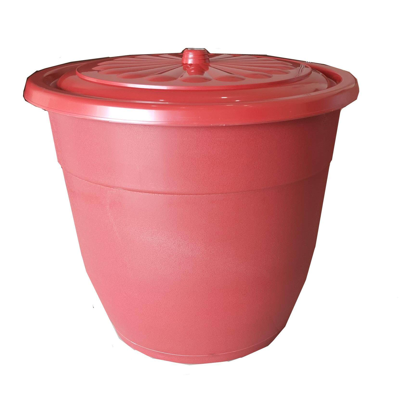 (OW) 13 Gallon or 50 Lit Multipurpose Big Pail with Cover for storing Water