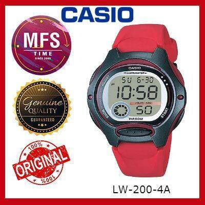 (2 YEARS WARRANTY) CASIO ORIGINAL LW-200 SERIES DIGITAL STUDENT & KID'S WATCH