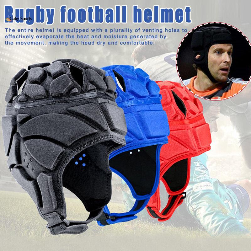Men Women Head Guard Goalkeeper Helmet Rugby Sports Scrum Cap Football Soccer