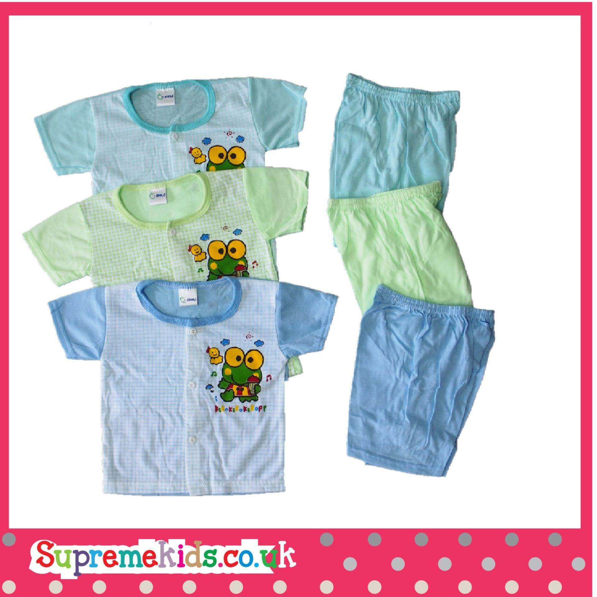NewBorn & Infant Casual Wear 3 In 1 - 016 (Fit to Age: 6-18Mth Mass:8-12kg Height:69-80CM)