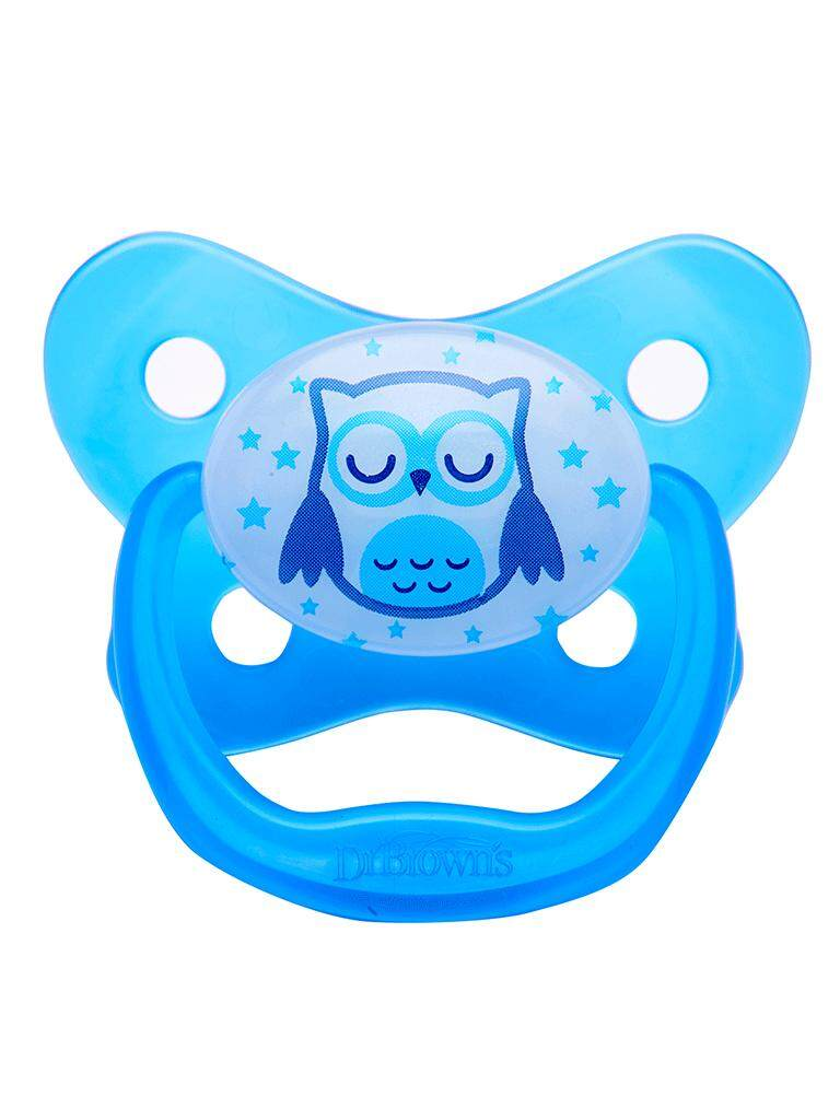 Dr. Browns Glows in the Dark Pacifier (12m+)