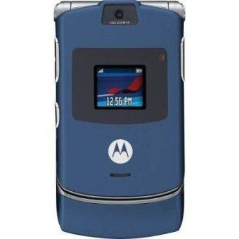 (FACTORY REFURBISHED) Motorola V3 RAZR Blue