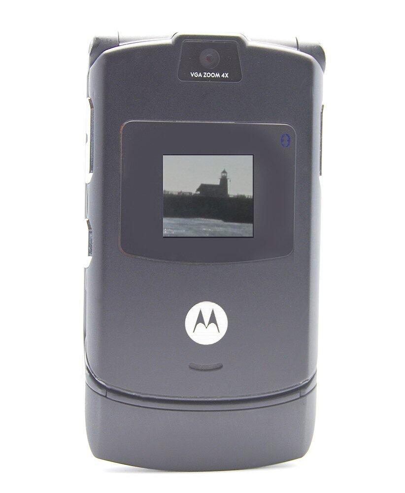 (FACTORY REFURBISHED) Motorola V3 RAZR Grey 26a20b2468