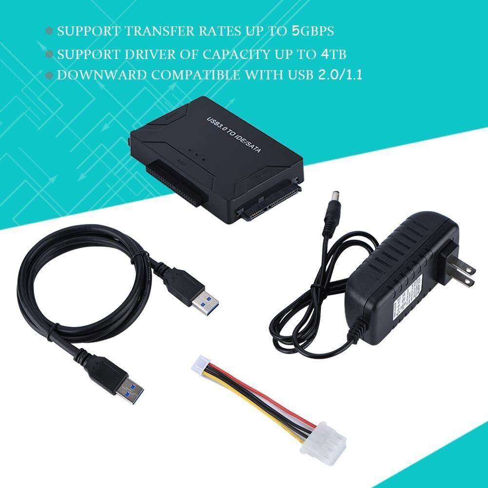 External Hard Drives - USB 3.0/2.0/1.1 to 2.5/3.5 IDE/SATA HDD/SSD Hard Drive Adapter HDD Transfer - [US) / EU)]