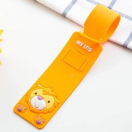 Cute Animal Cartoon Luggage Tag