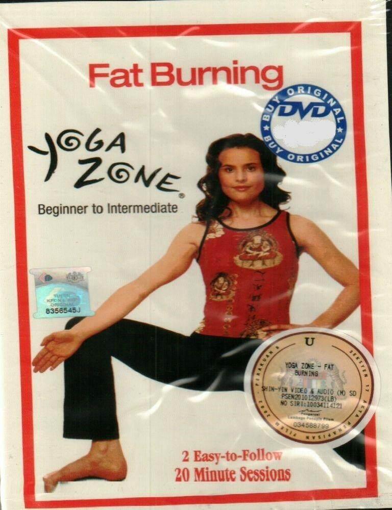 Fat Burning Yoga Zone Beginner To Intermediate DVD