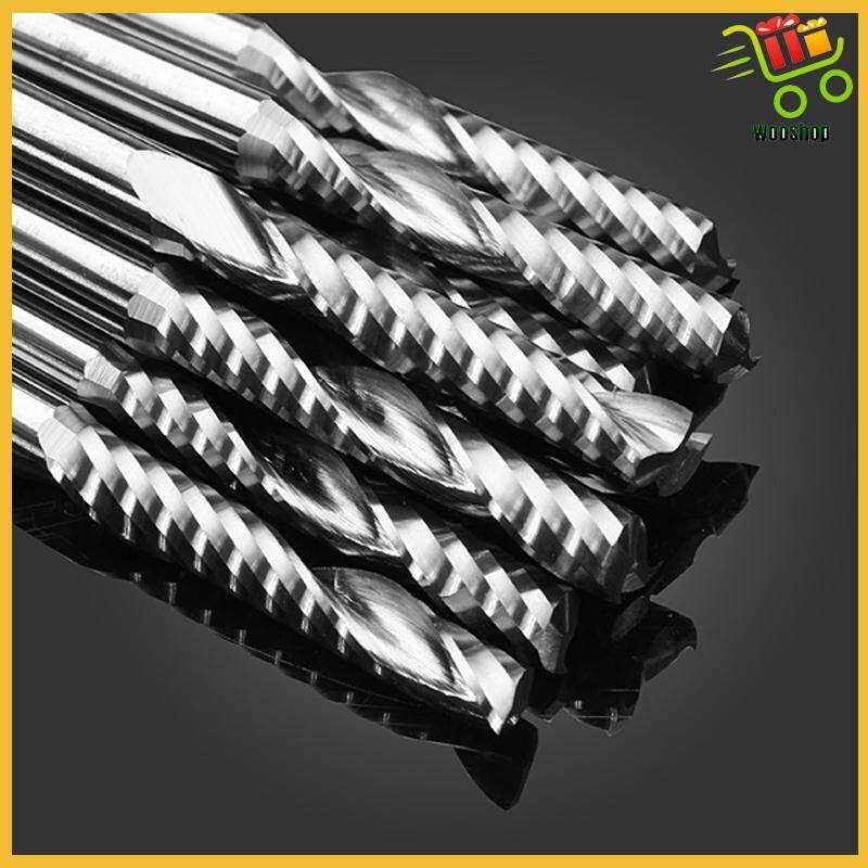 10 PIECE(s) Single Flute CNC Milling Cutters Carving Machine Tool Parts