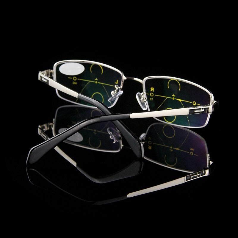 Intelligent Reading Glasses Anti UV Progressive Multifocal Lens Presbyopia - +1.0 / +2.5 / +2.0 / +1.5 / +3.0