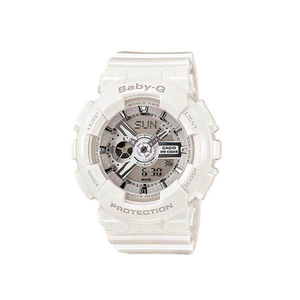 Casio BB-G BA-110-7A3 White Women Sports Watch