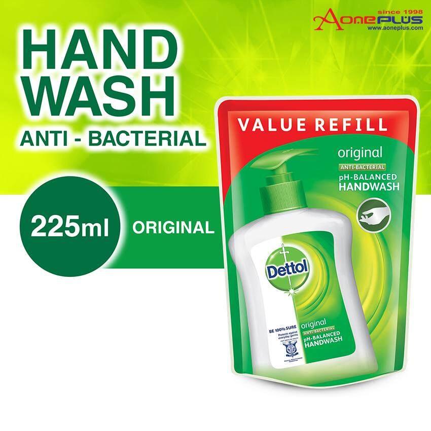 Dettol Hand Wash Original Pouch 225ML