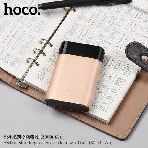 hoco.B34 Outstanding Series Mobile Power Bank8000mAh)