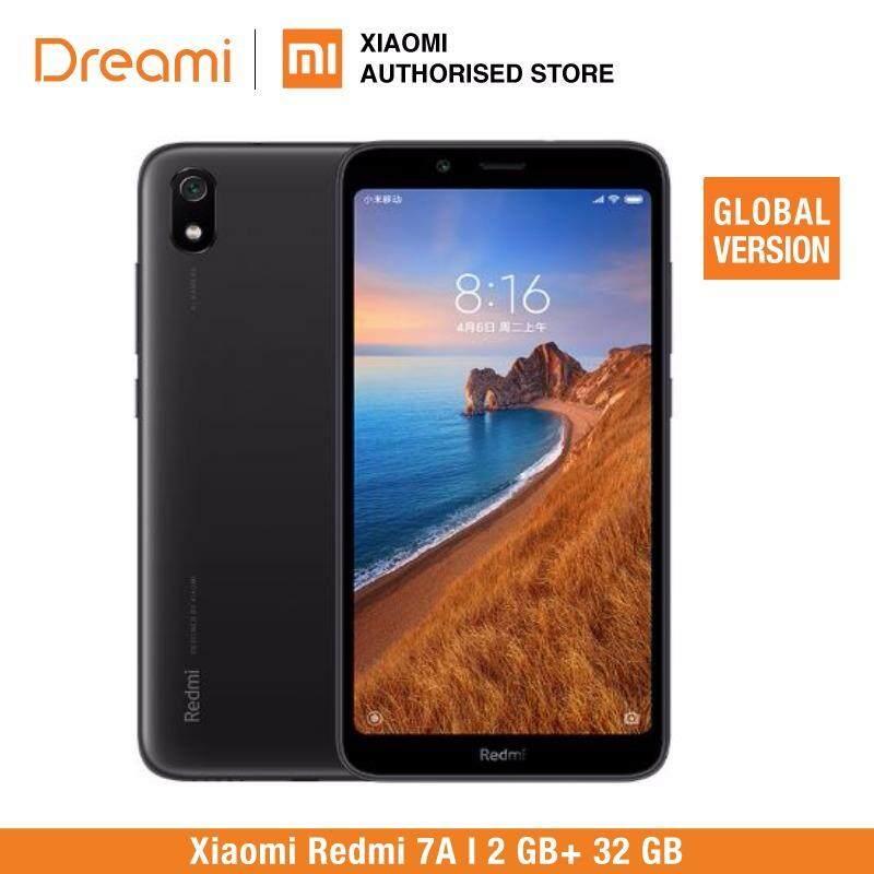 สอนใช้งาน  ประจวบคีรีขันธ์ In Stock Global Version Xiaomi Redmi 7A 7 2GB 16GB 5.45