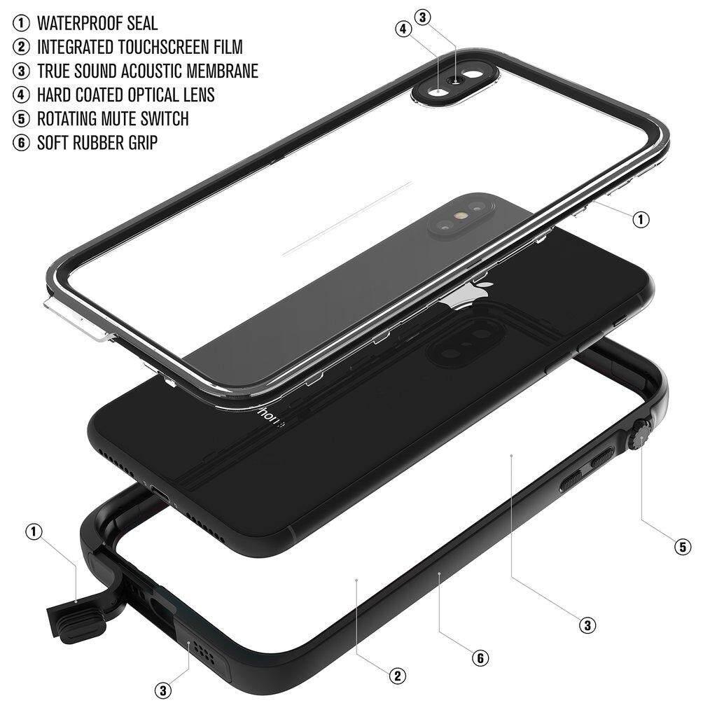 Original Catalyst Waterproof Case-iPhone Xs Max  Stealth Black