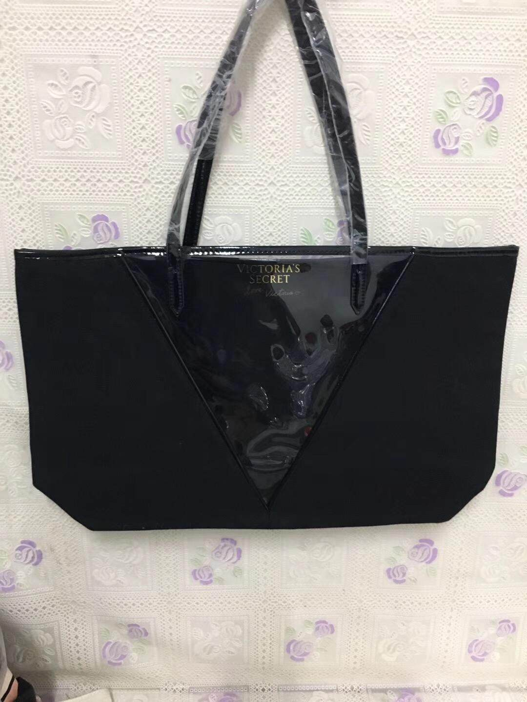 Victorias Secret Clear v panel tote Shoulder bag(WITHOUT SMALL BAG)