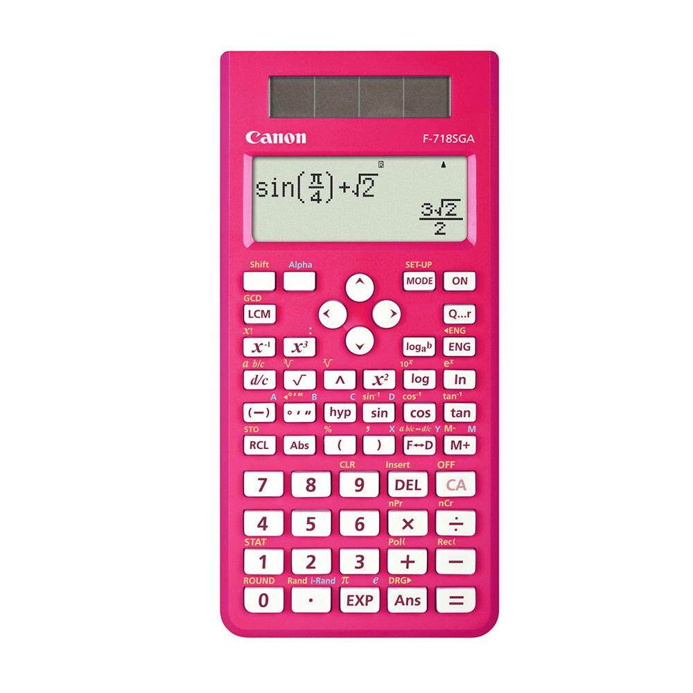 Canon F-718SGA-PI Scientific Calculator (Pink)