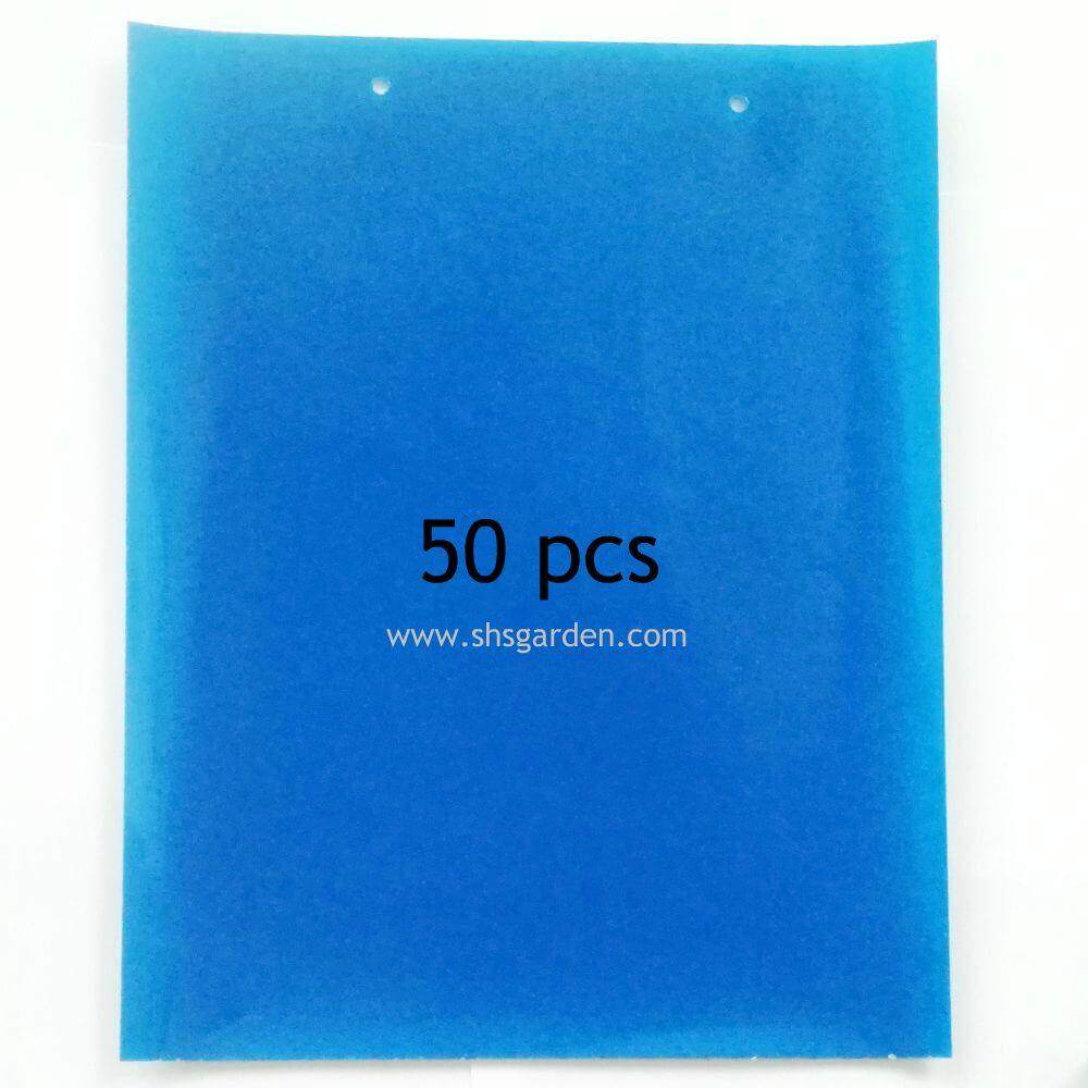 50 pcs Sticky Trap for Garden Pest Control Double Sided 20 x 25 cm