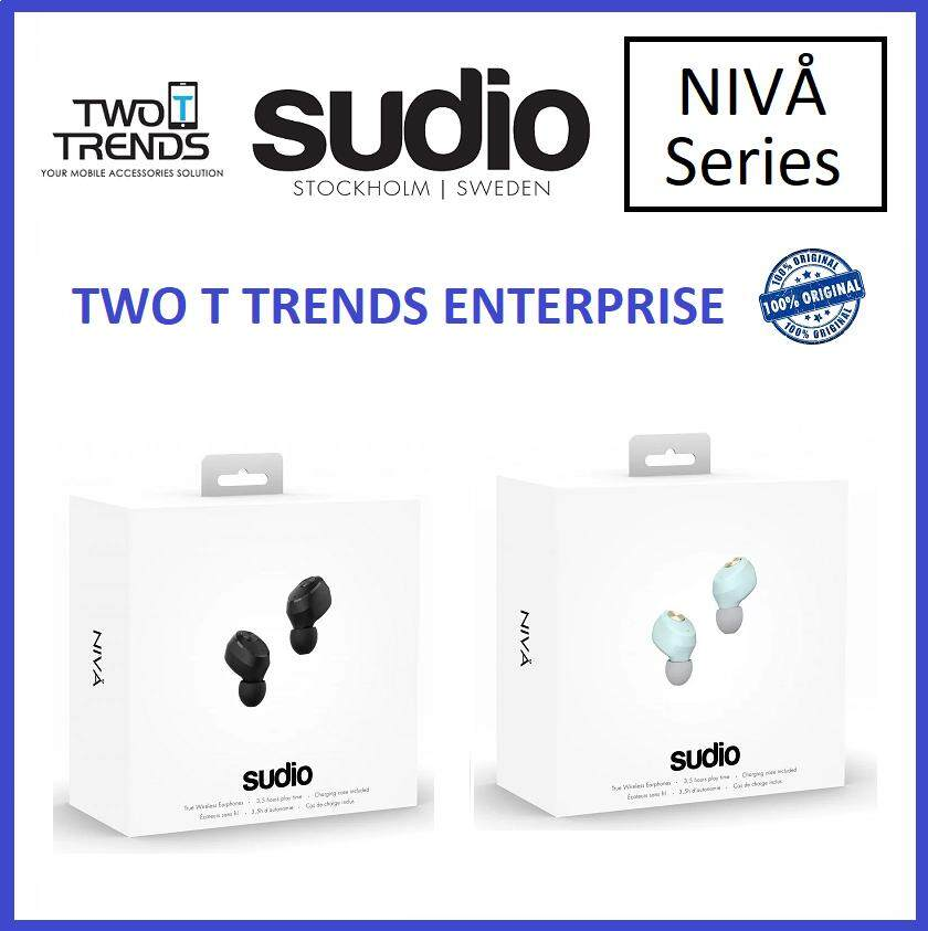 Sudio Niva True Wireless Earbuds Earphone with Charging Case Original