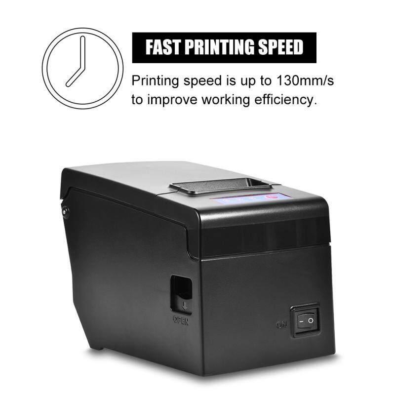 Printers - 58MM USB Wired Thermal Cash Receipt Printer Printing for iOS Android Windows - [UK PLUG / EU PLUG]