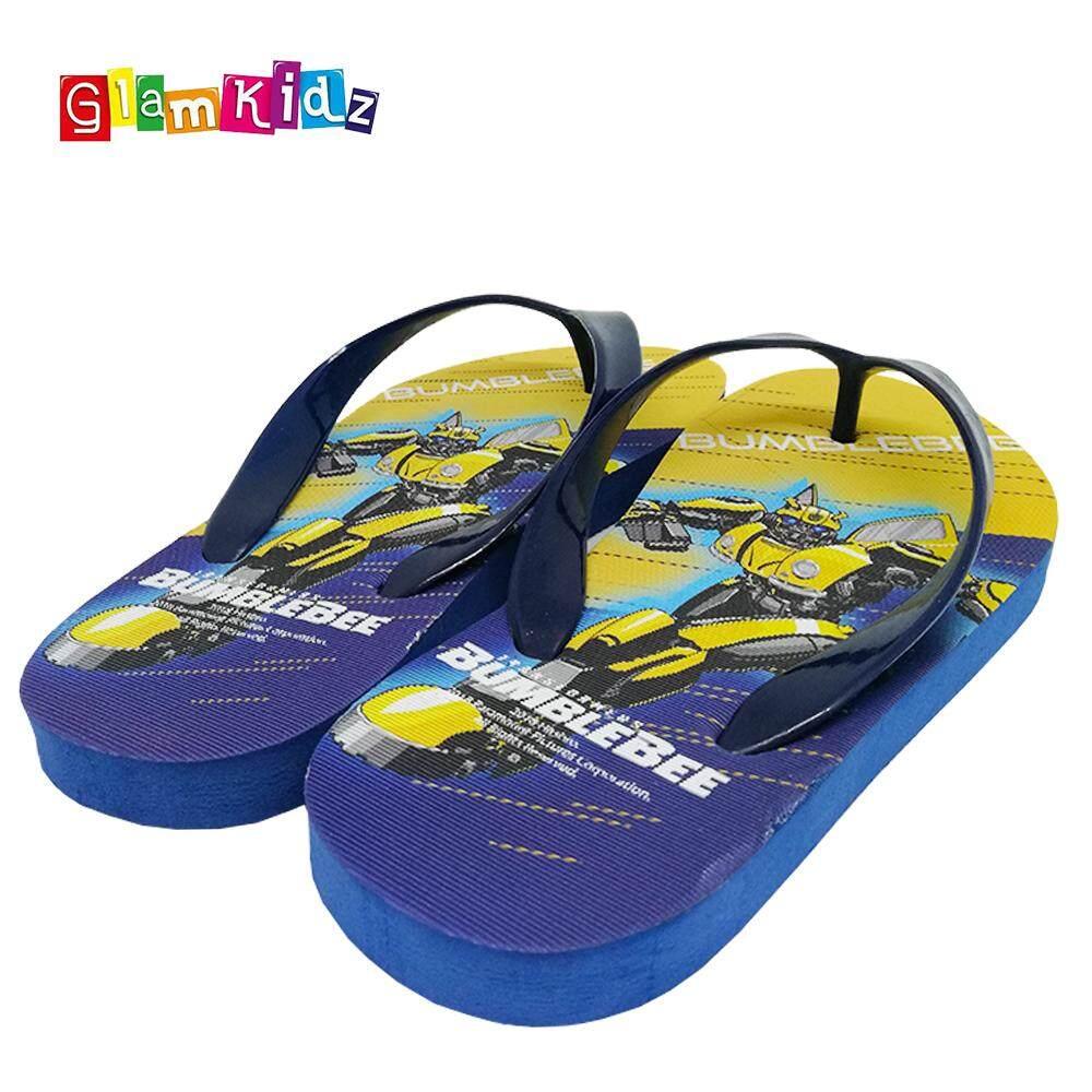 GlamKidz Transformers Bumblebee Slippers #2611