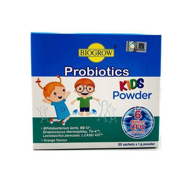Biogrow Kids Probiotics Powder 6billion 30sachets (High Strength)