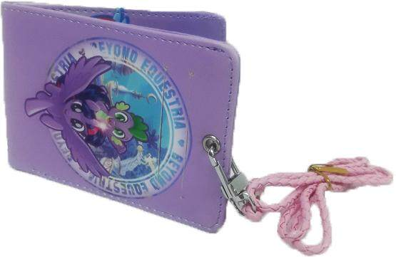 My Little Pony Slim Wallet with Lanyard